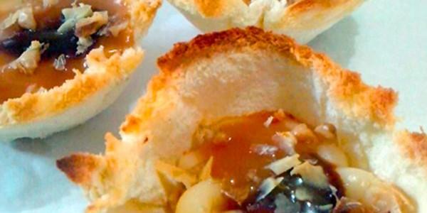 receita tortinha e pão