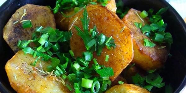receita batatas douradas