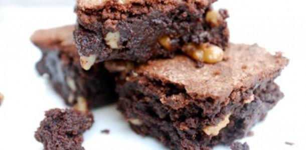 Receita Brownie de castanhas