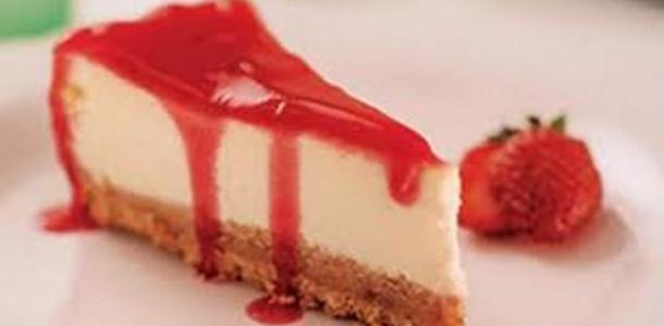 Receita Cheesecake Integral