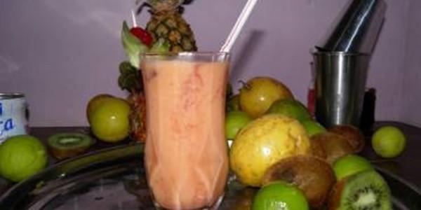 receita coquetel de frutas fácil