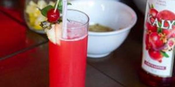 receita drink cosmo de abacaxi