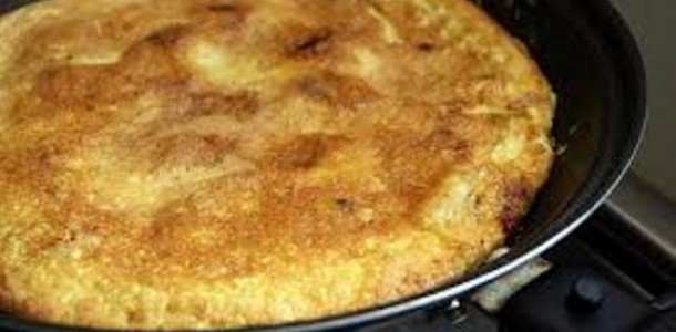 Receita Omelete Batata Doce