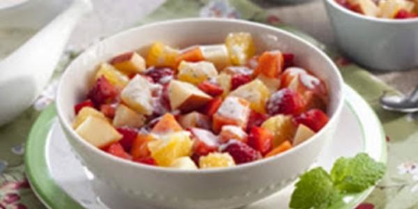 receita salada de fruta.