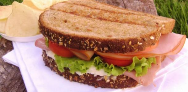 receita sanduíche nutritivo light