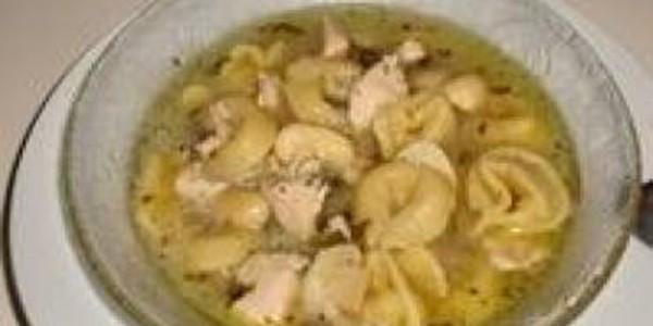 receita sopa de capeletti com cogumelos
