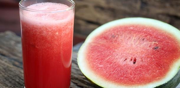 receita suco detox de melancia