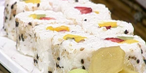 receita sushi de frutas