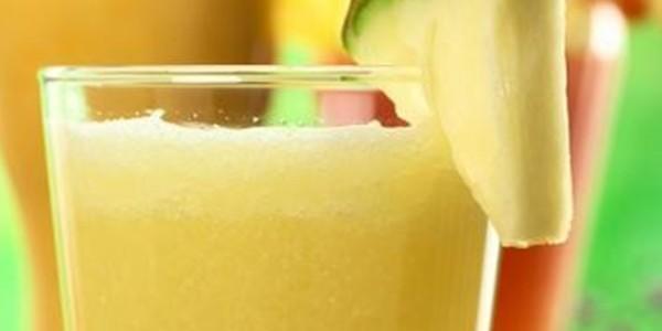 receita vitamina de frutas rico em fibras