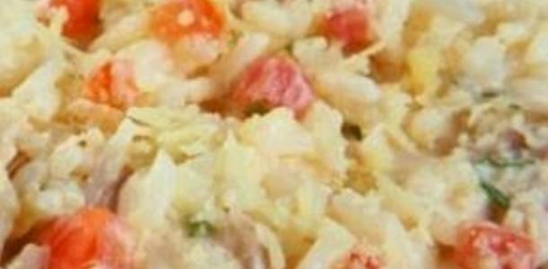 receita arroz cremoso