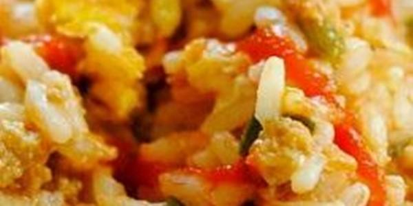 receita arroz temperado