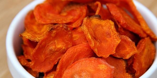 receita chips de cenoura