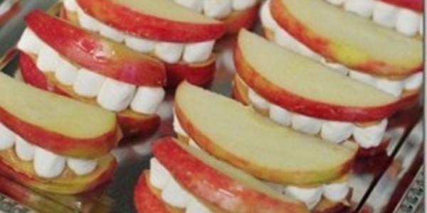 receita dentaduras de maçã