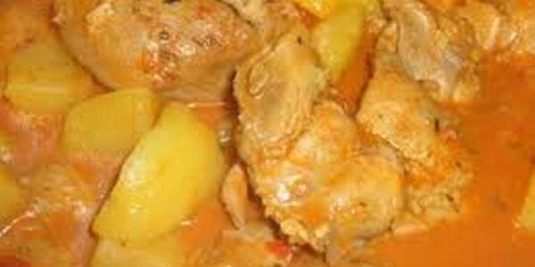 receita ensopado de frango com batata
