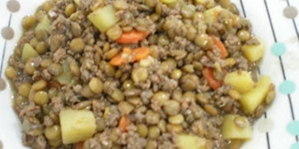 receita lentilha