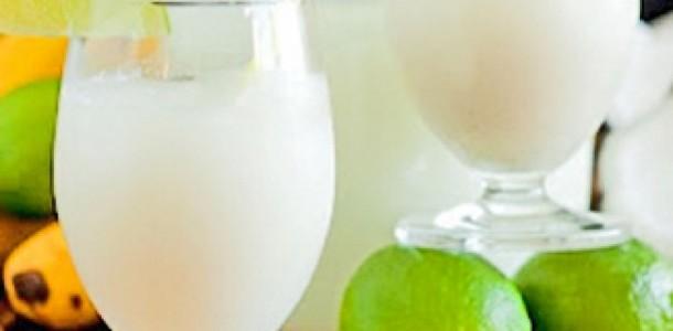 receita limonada de coco