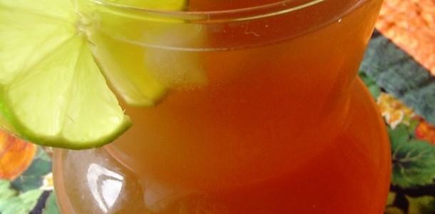 receita mate gelado e limão