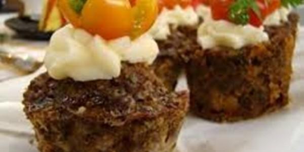 receita muffin de carne