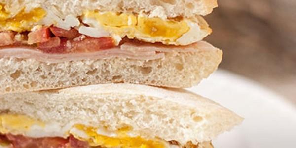 receita pão com ovo light