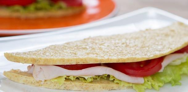 receita pão de microondas