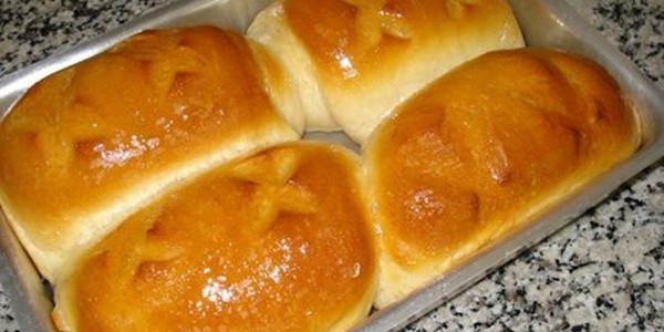 receita pão rápido