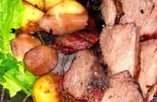 receita picanha com batatas ao forno