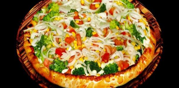 Receita Pizza Light