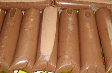 receita sacolé cremoso de chocolate