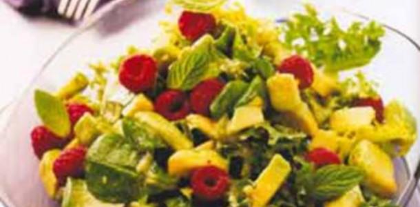 Receita Salada de Abacate
