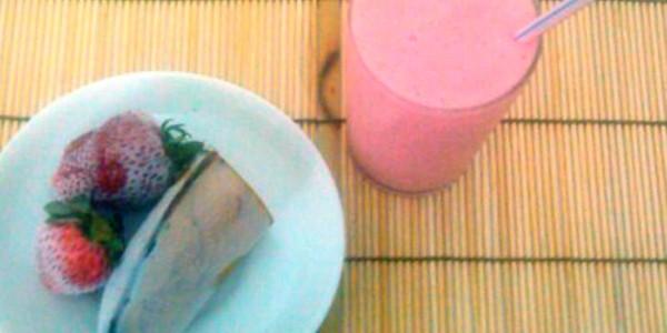 receita smoothie de frutas