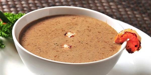 receita sopa de funghi cremosa