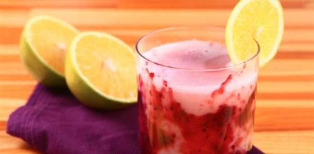 receita suco de uva com laranja