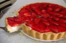 Receita Torta de Morango com Iogurte