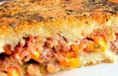 Receita Torta Fácil Café da Tarde