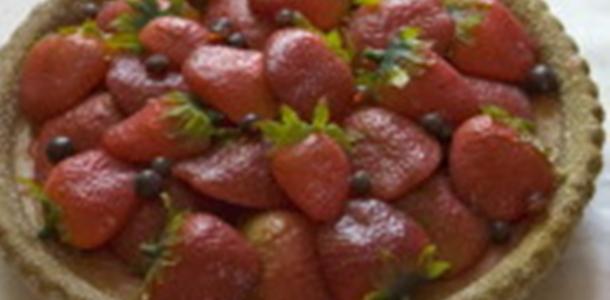 receitas torta mousse de morango facil