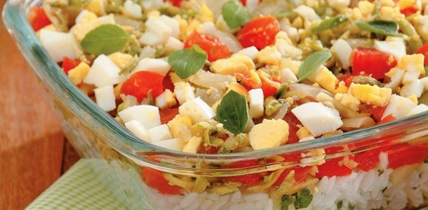 receita arroz caipira