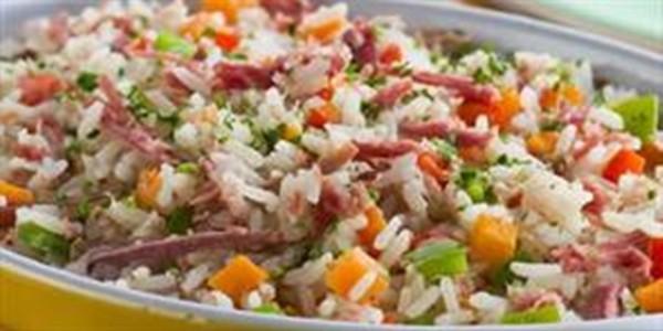 receita arroz com legumes