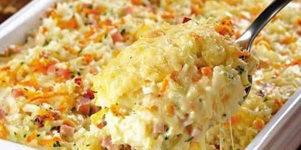 receita arroz cremoso de forno