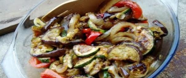 receita legumes grelhados