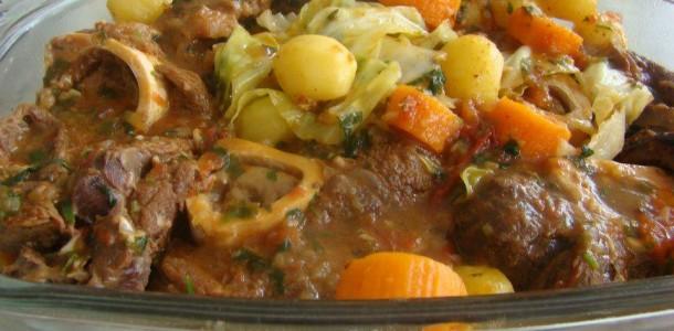 receita ossobuco com legumes