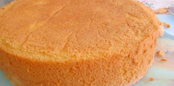 receita pão de ló fácil