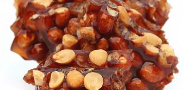 receita rapadura de chocolate com amendoim