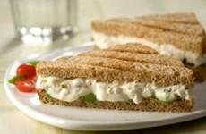receita sanduíche de ricota