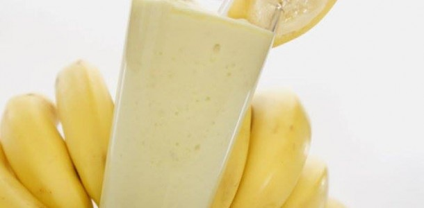 receita smoothie de banana
