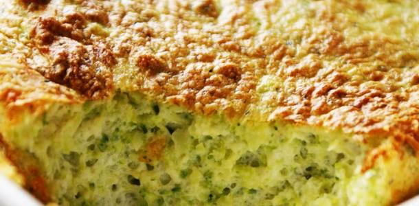 receita suflê de brócolis