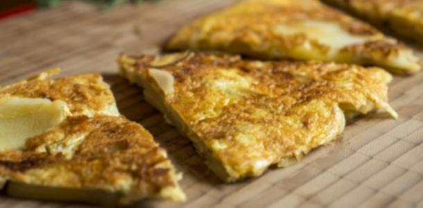 receita tortilha de batata