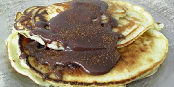 receita waffle de frigideira