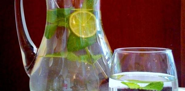 receita água aromatizada