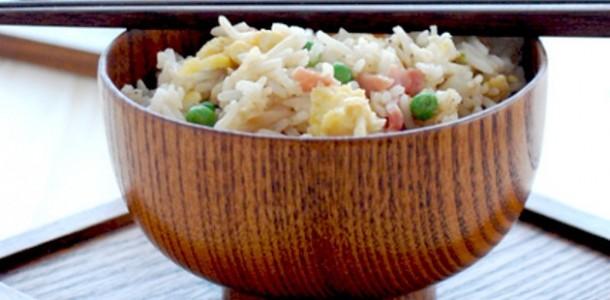receita arroz chinês