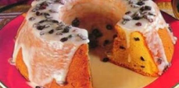 receita bolo de natal com passas